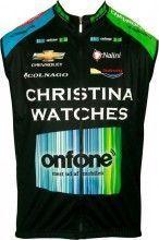CHRISTINA WATCHES - ONFONE 2013 Nalini Radsport-Profi-Team - Wind-Weste