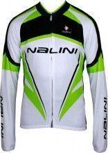 Nalini CLASSIC STRESA 1 Langarmtrikot weiß/grün