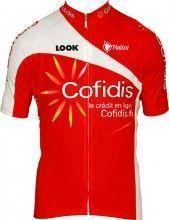 Cofidis 2012 Nalini Radsport-Profi-Team - Trikot (Kurzarmtrikot, langer Reißverschluss)