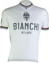 Bianchi Milano Kurzarmtrikot PRIDE - Campione del Mondo wei� (E16-4020)