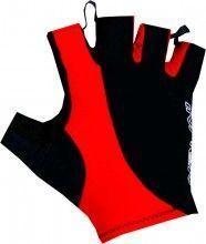 Nalini PRO Logo Gloves Kurzfingerhandschuh schwarz/rot (E17-4000)