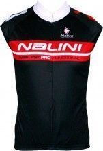 Nalini PRO Special MUSK Kinder-Trikot ohne Arm schwarz/rot