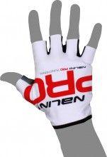 Nalini PRO Functional Gloves Kurzfingerhandschuh wei�