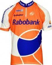 RABOBANK 2010 Kurzarmtrikot mit kurzem Reißverschluss - Radsport-Profi-Team