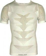 NALINI Kurzarm-Unterhemd EAGLE weiß