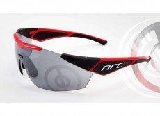 NRC Rad-/ Sportbrille X1.WDE rot/schwarz 1