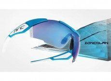NRC Rad-/ Sportbrille X1.ZONCOLAN azurblau/weiß 1