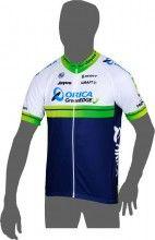 ORICA GREENEDGE 2014 Kurzarmtrikot (langer Reißverschluss) - Craft Radsport-Profi-Team