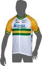 ORICA GREENEDGE Australischer Meister 2014 Kurzarmtrikot (langer Reißverschluss) - Craft Radsport-Profi-Team