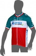 ORICA GREENEDGE Italienischer Meister 2013/14 Kurzarmtrikot (langer Reißverschluss) - Craft Radsport-Profi-Team