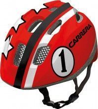 Carrera Kinder Fahrradhelm PEPE red Race