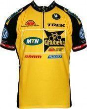 MTN QHUBEKA 2012 Vermarc Radsport-Profi-Team - Kurzarmtrikot mit kurzem Reißverschluss