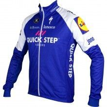 Quick-Step Floors 2017 Fahrrad Winterjacke 1