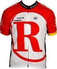 RADIOSHACK 2011 Bontrager Radsport-Profi-Team - Kurzarmtrikot mit langem Reißverschluss