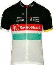 RADIOSHACK NISSAN TREK 2012 Craft Radsport-Profi-Team - Kurzarmtrikot mit langem Reißverschluss