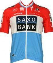 Saxo Bank 2010 Luxemburgischer Meister Sportful Radsport-Profi-Team - Trikot (Kurzarmtrikot)