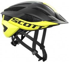 Scott Radsporthelm ARX Mtb gelb schwarz 1