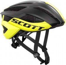 Scott Radsporthelm Arx Plus gelb schwarz 1