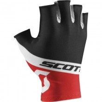 Scott RC TEAM Fahrradhandschuhe kurzfinger schwarz rot 1