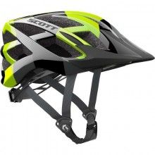 Scott SPUNTO Kinder Fahrradhelm lime green 1