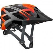 Scott SPUNTO Kinder Fahrradhelm neon orange 1