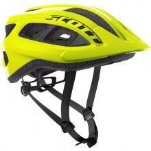 Scott SUPRA Fahrradhelm neon gelb 1