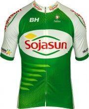 SOJASUN 2013 Nalini Radsport-Profi-Team - Kurzarmtrikot mit langem Reißverschluss