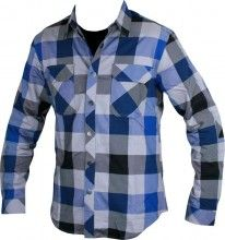 Sombrio VAGABOND Trailshirt deep ocean plaid