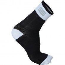 Sportful Bodyfit Pro Radsocken schwarz weiß 1