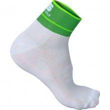 Sportful GIRO 5 Radsocke weiß grün 1
