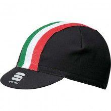 Sportful ITALIA CAP Radmütze schwarz 1