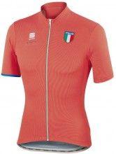 Sportful ITALIA CL Kurzarmtrikot rot 1