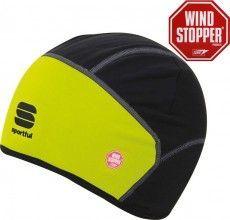Sportful Unterhelm Windstopper schwarz neon 1