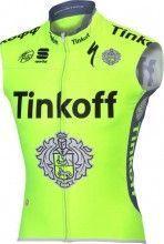PRO TEAM TINKOFF 2016 Wind-Weste - Sportful Radsport-Profi-Team