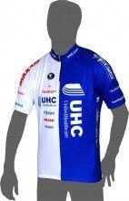 UNITEDHEALTHCARE 2014 Kurzarmtrikot (kurzer Reißverschluss) - Vermarc Radsport-Profi-Team