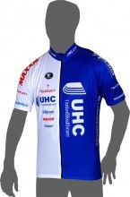 UNITEDHEALTHCARE 2014 Kurzarmtrikot (langer Reißverschluss) - Vermarc Radsport-Profi-Team