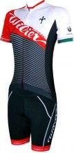Wilier VALE Damen Radsportset rot schwarz 1