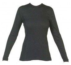 Vangard Damen Langarmshirt - 2509 schwarz - Funktionsunterwäsche