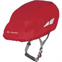 Vaude HELMET RAINCOVER Regenüberzug indian red 1