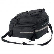 Vaude SILKROAD PLUS Fahrrad Gepäckträgertasche schwarz 1