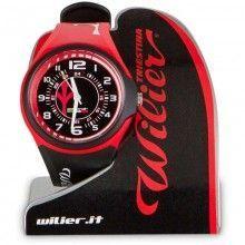 Wilier Armbanduhr schwarz/rot 1