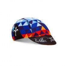 Wilier CALEIDOS POP CAP Radmütze schwarz blau 1
