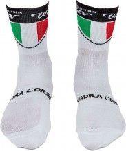 Wilier TRICOLORE Radsport Socke weiss 1