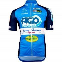 f3dda0094 Ago Aqua Service 2018 short sleeve cycling jersey (long zip) - Vermarc  professional cycling