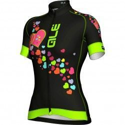 ALE FOREVER womens short sleeve cycling jersey black 97037de16