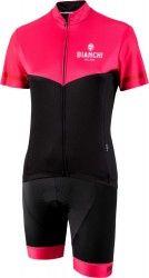 Bianchi Milano womans cycling set (jersey GINOSA + cycling shorts AVOLA)  pink black b857ee334