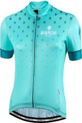 Bianchi Milano ISCA womens cycling jersey celeste (E19-4300) ff558307c