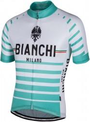 Bianchi Milano ALBATROS short sleeve cycling jersey white (E17-4300) size  XXXXL ( 0bd4e2d9b