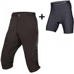 Endura HUMMVEE II bike shorts 3 4 black (E8066BK) d8c56902c