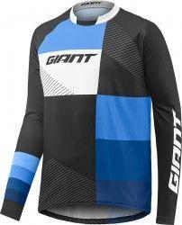 6e8a939fa Giant CLUTCH long sleeve cycling jersey black blue (E17)